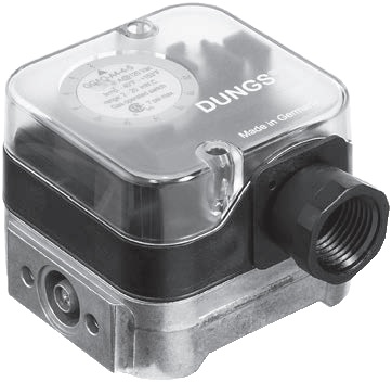 Dungs 271330 Gas Pressures Switch GGAO-A4-4-3 0.4-4 W.C