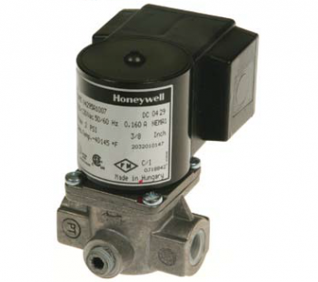 "Honeywell V8295A1065 Solenoid Valve 24V Normally Closed 2psi 2"" NPT"