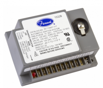 Fenwal 35-715615-011 Microprocessor-Based Direct Spark Ignition Control Module with Inducer Blower Relay