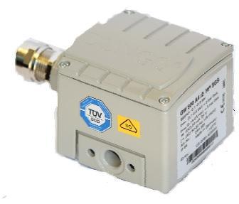 "Dungs 273274 Gas Pressure Switch High Pressure GW 500 A4/2 HP 40-200"" W.C"