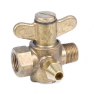 "3TSV-FM Brass Throttling Gas Valve 3/8"" NPT Male x Female - FM Approved"