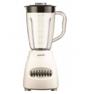 Brentwood  BTWJB220W Blender with Plastic Jar 12-Speed ( White )