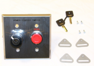 Asco 173C17 Push Button Switch Key Operated