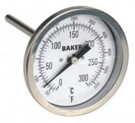 Baker T3004-550 Bimetal Thermometer 50 to 550F (0 to 260C)