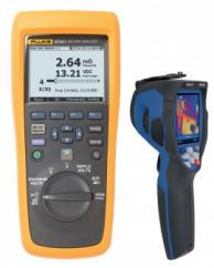 Fluke BT521 Advanced Battery Analyzer Value Added Kit with 80x80 Thermal Imager