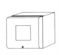 """Protection Controls NI0.5 Enclosure with 1/4"""" DIN Cut-Out for Tele-Fault II"""