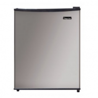 Magic Chef MCPMCAR240SE2 Stainless Steel Refrigerator 2.4 Cubic-Ft